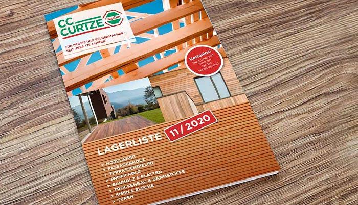 C.C. Curtze, Baumarkt Korbach: Bauholz & Platten