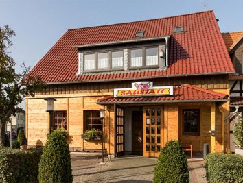 Gastwirtschaft »Saustall« in Wetterburg
